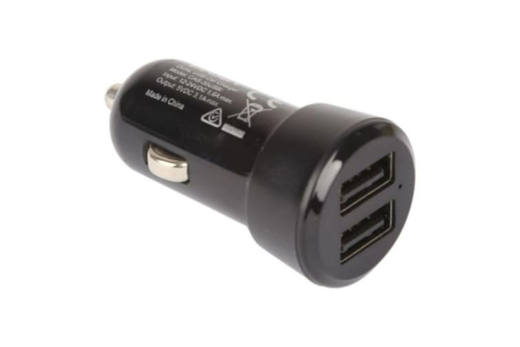3.1A Dual Port USB Car Charger WIith Smart IC Short Circuit Overload Protection