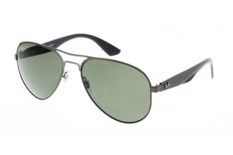Ray Ban RB3523 029-9A 59 Matte Gunmetal Mens Sunglasses