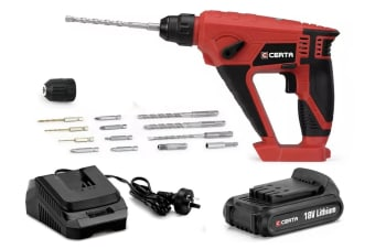 Certa PowerPlus 18V Rotary Hammer Kit