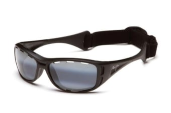 Maui Jim Waterman 4102M Matte Black Mens Womens Sunglasses