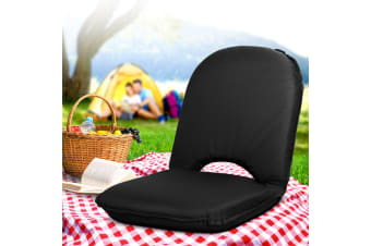 Artiss Portable Picnic Camping Beach Chair Folding Floor Recliner Outdoor Lounge Sofa