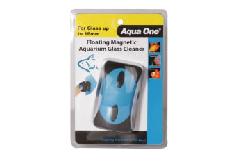 X-Large Floating Magnet Cleaner for Aquarium Fish Tanks Glass up to 16mm by Aqua One