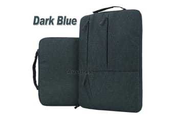 "For MacBook Air 13.3""New Macbook Pro A1932 With Touch ID Laptop Sleeve Travel Bag Carry Case-Dark Blue"
