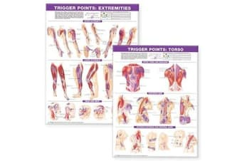 Trigger Point Chart Set - Torso & Extremities Paper