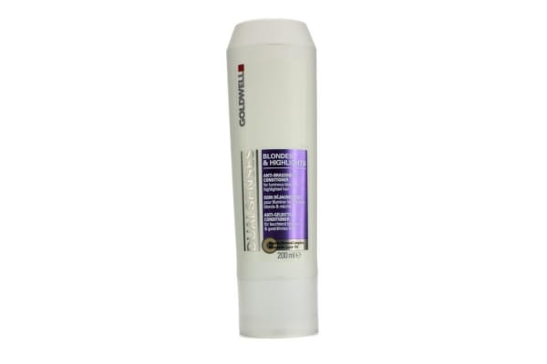 Goldwell Dual Senses Blondes & Highlights Anti-Brassiness Conditioner (For Luminous Blonde & Highlighted Hair) (200ml/6.7oz)