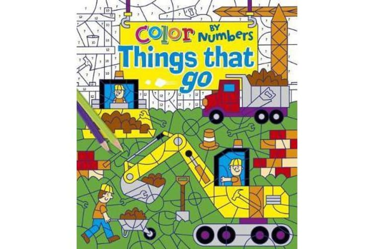 Color by Numbers - Things That Go