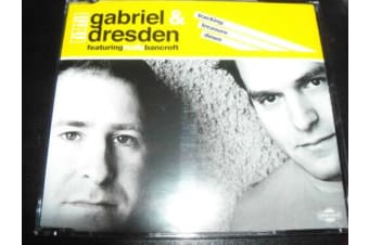 Gabriel & Dresden Feat Molly Bancroft Tracking Treasure Down MUSIC CD NEW SEALED