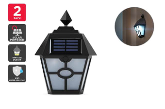 Solar Powered Wall Mounted Vintage LED Light