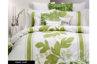 OASIS LEAF Quilt Cover Set by Logan and Mason