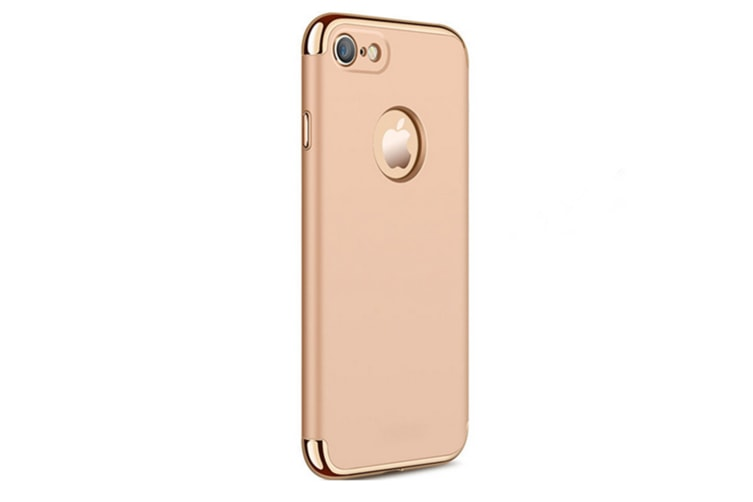 3 In One Splicing Plating Case For Iphonex, Iphone8, Iphone 7/8 Plus, Iphone 7/8Gold Iphone X