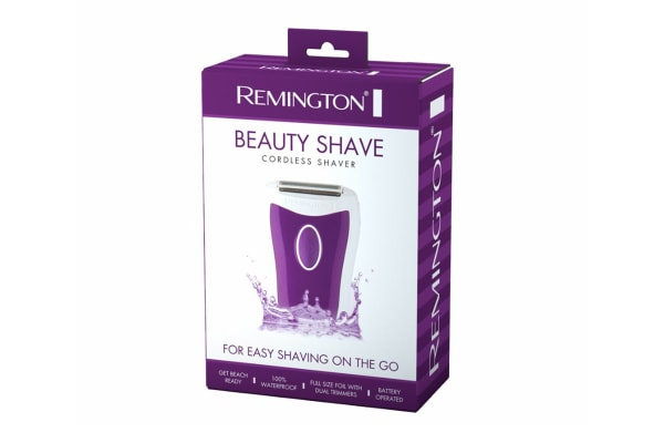 Remington Beauty Shave Cordless Shaver - Purple (WSF4814PAU)