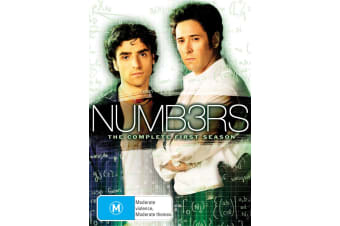 Numb3rs The Complete First Season 1 DVD Region 4