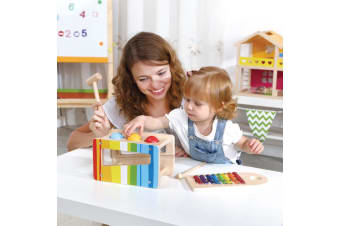 Pound and Tap Wooden Play Set - Tooky Toy