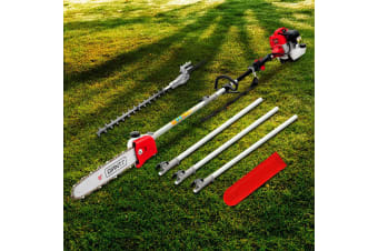 62CC Petrol Pole Chainsaw Hedge Trimmer Pruner Chain Brush Cutter