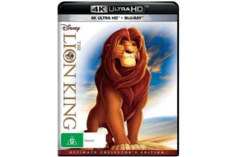 The Lion King (Ultimate Collector's Edition) (4K UHD/Blu-ray)