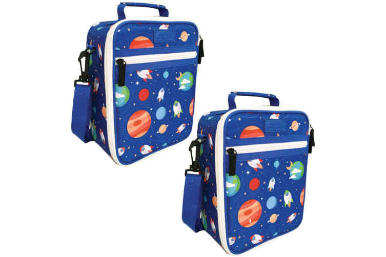 2x Sachi Thermal Insulated Picnic Lunch Tote Cooler Carry Pouch Bag Box Space