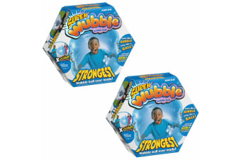 2PK Super Wubble Bubble Ball - Blue