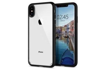 "Spigen iPhone XS Max (6.5"") Ultra Hybrid Case, Matte Black"
