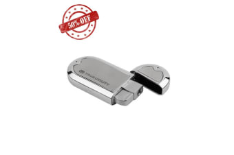 True Utility Oval Turbojet Flame Lighter Windproof Lighters Chrome/Stainless