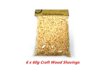 360g Craft Wood Shavings Art Wrapping Home Bedding Gardening Decor Chips