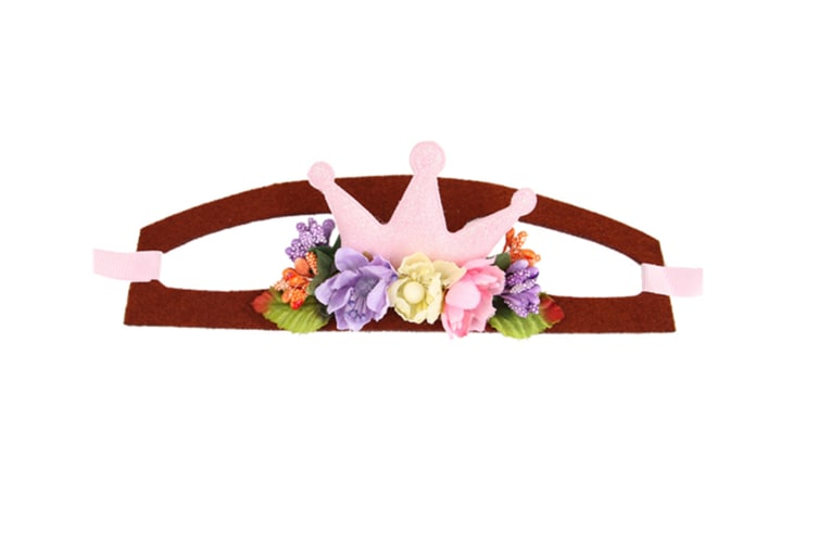Pet Headwear Cute Halloween Christmas Headband Adjustable Headgear S