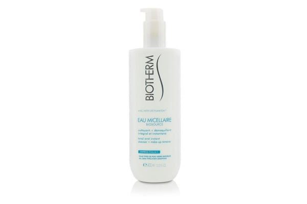 Biotherm Biosource Eau Micellaire Total & Instant Cleanser + Make-Up Remover - For All Skin Types (400ml/13.52oz)