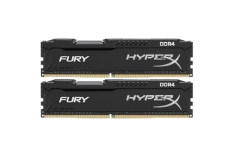 Kingston HyperX Fury 32GB (2 x 16GB) - DDR4 - 2666MHz - CL16 - 1.2v - DIMM