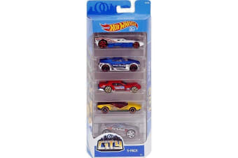 Hot Wheels 5-pack City