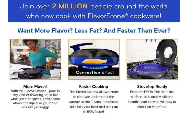 Flavorstone Infusion Grill Stovetop Cooker