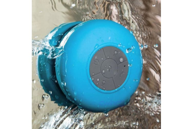 Bluetooth Waterproof Shower Speaker for iPhone & Android