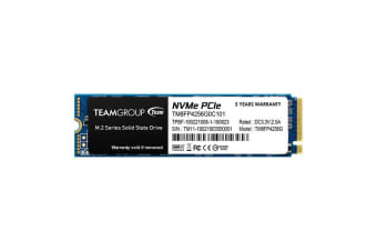 Team Group MP34 M.2 256 GB PCI Express 3.0 NVMe