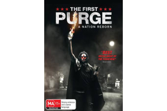 The First Purge DVD Region 4