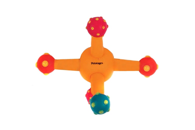Petstages Flexi Fetch Jack Interactive Dog Toy (Multicoloured) (One Size)