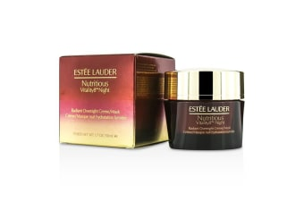 Estee Lauder Nutritious Vitality8 Night Radiant Overnight Creme/Mask 50ml/1.7oz