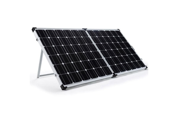G&P 12V 300W Folding Portable Mono Solar Panel Kit Caravan Camping Power USB
