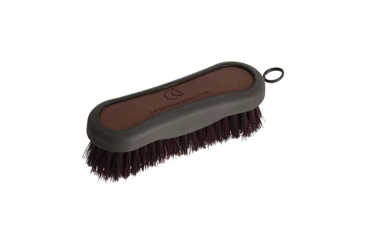 Coldstream Faux Leather Face Brush (Brown/Black) (12.8 x 4.3cm)