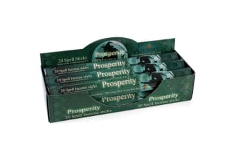 Elements Prosperity Spell Incense Sticks (Box Of 6 Packs) (Green)