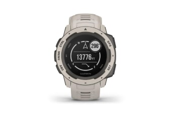 Garmin Instinct Rugged GPS Smart Watch - Tundra (010-02064-24) (English Only)