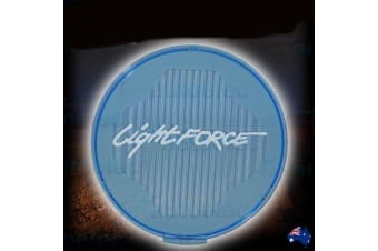 LIGHTFORCE VENOM CRYSTAL BLUE COMBO FILTER COVER DRIVING LIGHTS LAMPS LAMP
