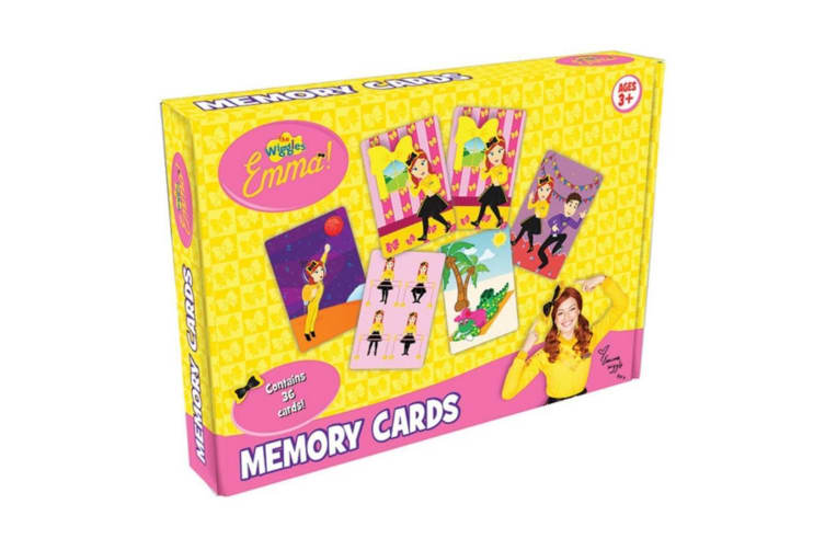 The Wiggles Emma Memory Cards Game