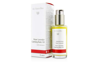 Dr. Hauschka Moor Lavender Calming Body Oil  - Soothes & Protects 75ml