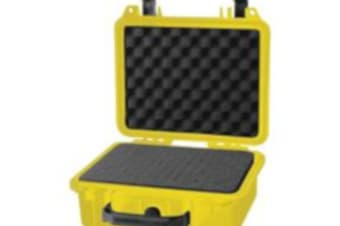 DURATOOL Tool Case Weatherproof Yellow Polypropylene High density polymer provides outstanding strength