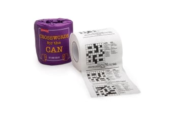 Jokes & Puzzles Novelty Toilet Paper - Crosswords For The Can