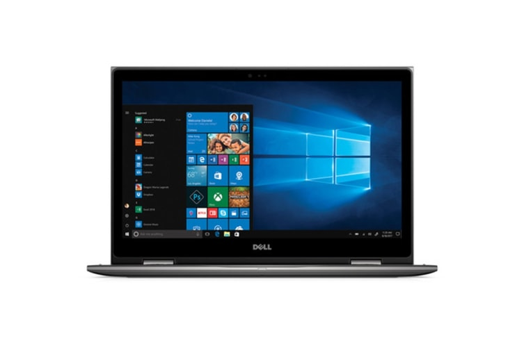 "Dell Inspiron 15 5579 15.6"" Convertible 2-in-1 Touch Screen Laptop (i7-8550U, 8GB RAM, 256GB SSD, Gray) - Certified Refurbished"