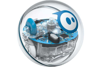 Sphero SPRK+ Edition K001ROW Education STEM Clear Robot Bluetooth 4.0 Rechargeable Lithium-Ion