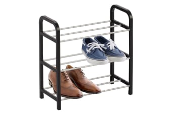 Boxsweden 3 Tier Shoe Rack/Storage Stand Shoes Organiser/Cabinet Assorted Colour
