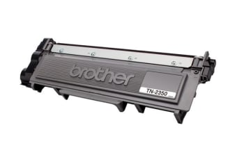 Brother TN-2350 Mono Laser Toner- High Yield Cartridge, HL-L2300D/L2305W/L2340DW/L2365DW/2380DW/MFC-L2700DW/2703DW/2720DW/2740DW up to 2,600 p