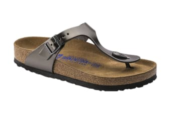 Birkenstock Gizeh BF Pull Up Sandal (Anthracite)