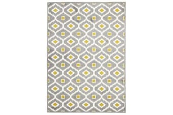 Indoor Outdoor Bianca Rug Grey Citrus 290x200cm
