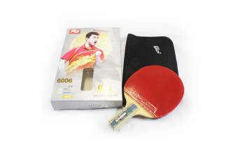 DHS 6006 6 Star Table Tennis Bat Racket Short Handle Ping Pong Paddle Penhold